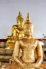 The Three Gold Buddha images , Thailland