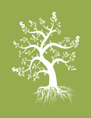 money tree sign