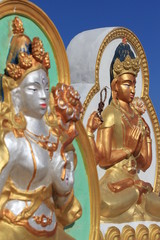 Скульптуры Богини Белая Тара и Буд