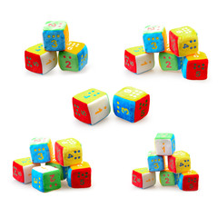 set of a Baby Number Blocks
