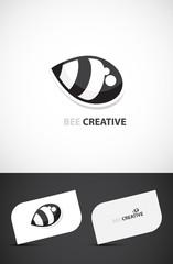 Creative template, Bee-creative concept
