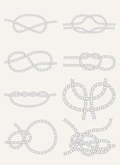 Knots set