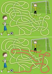 Football maze