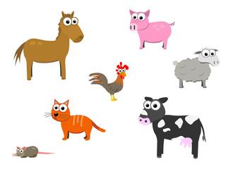 Tiere vom Bauernhof