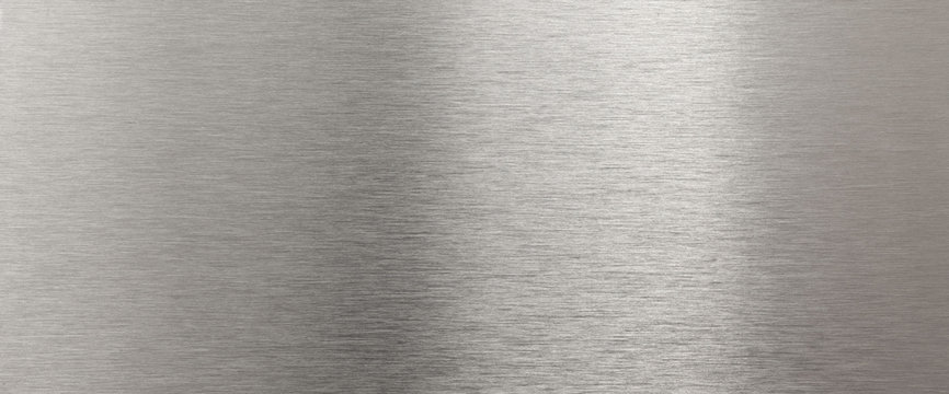Shining stainless steel texture