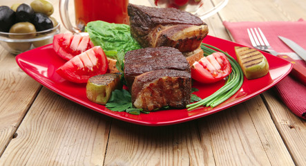 grilled meat : beef