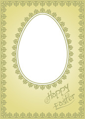 Easter holiday wishes. Put in your own Photo.