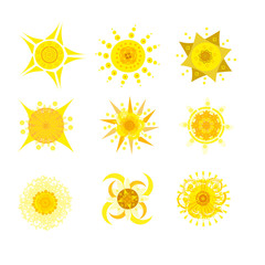 sun creative icons