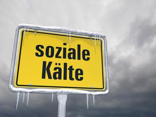 soziale Kälte