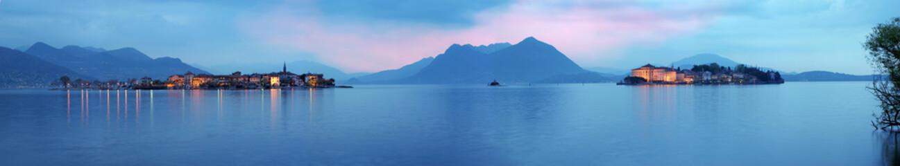 Foto op Plexiglas Blauwe jeans Stresa, Isole Borromee