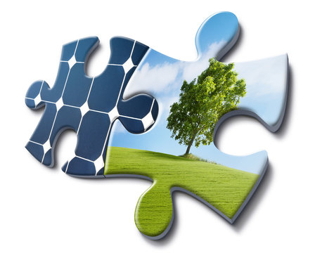 nature loves solar energy