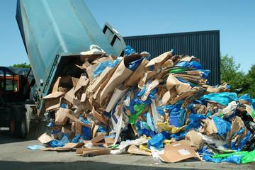 Cardboard & Plastic Recycling
