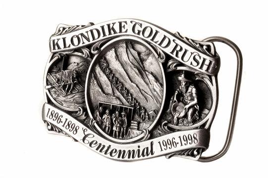 Boucle de ceinture ruée vers l'or