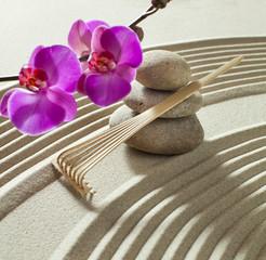 Acrylic Prints Stones in Sand zen internal beauty