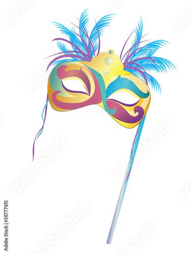 Karneval Fasching Maske Stock Image And Royalty Free Vector