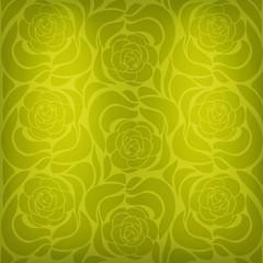Bright vintage floral background