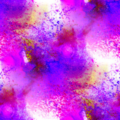 purple violet seamless texture watercolor background