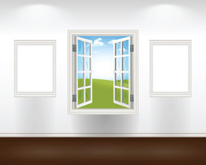 Window with Frames