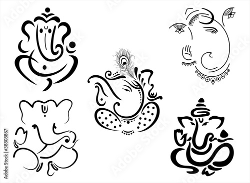 Quot Ganesh Hindu Deity India Quot Stock Image And Royalty Free