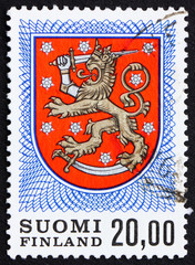 Postage stamp Finland 1978 Finnish Arms from Grave of King Gusta