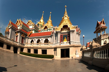 Beautiful temple in Middle of Thailand .