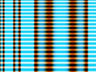 Blue retro fractal