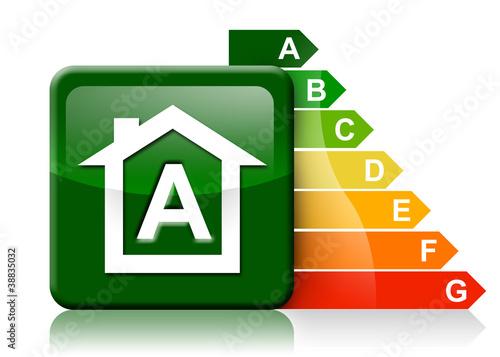 Classe energetica casa a immagini e fotografie royalty free su file 38835032 - Classe energetica casa g ...
