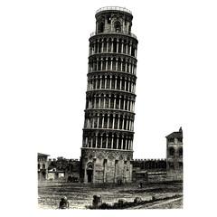 La tour de Pise