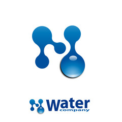 Logo Water Company # Vector