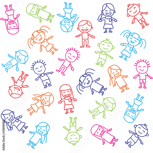 quotvector of colorful children backgroundquot stock image and