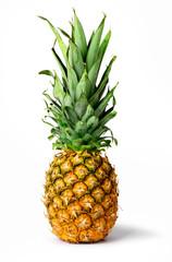 Fresh pineapple fruit isolated
