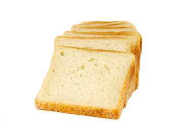 bread for toast isolated