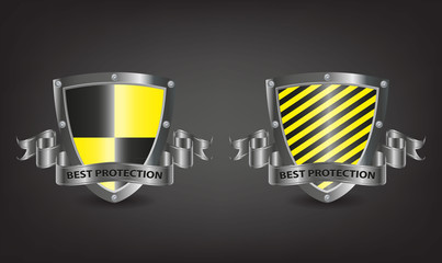 Two best protection shields for web security-vector