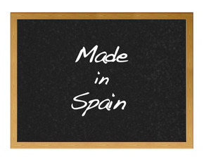 Made in Spain.