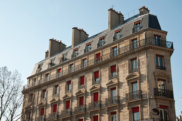 immeuble parisien place de la répoublique