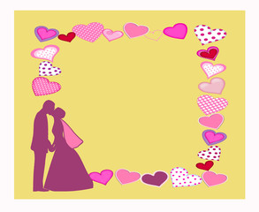 Lovers note card