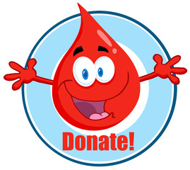 Blood Guy Asking You To Donate