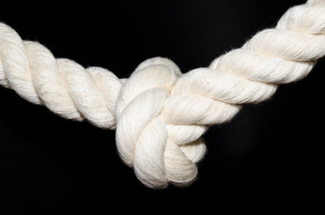 Knoten, derbes Seil