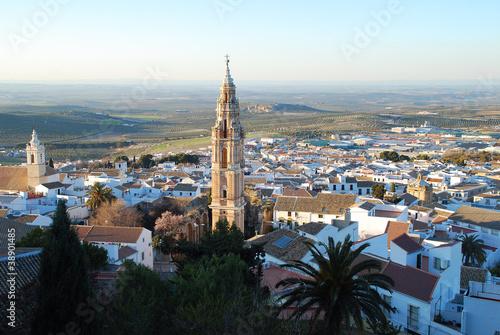 Vista panor mica de estepa pueblo de sevilla andaluc a fotos de archivo e im genes libres de - Fotos estepa sevilla ...