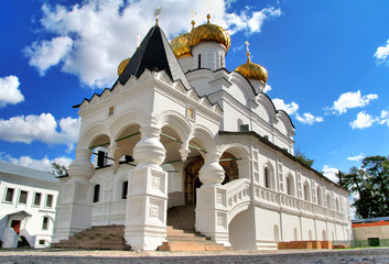 Trinity cathedral of Ipatiev Monastery in Kostroma, Russia
