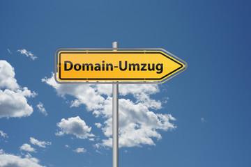 Domain umziehen