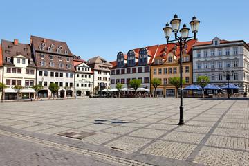Alter Marktplatz in Naumburg, Deutschland