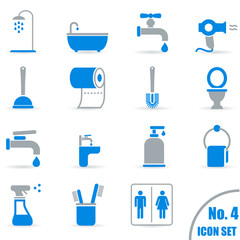 Sanitär - Icons