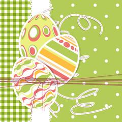 Biglieto Pasquale - Happy Easter card