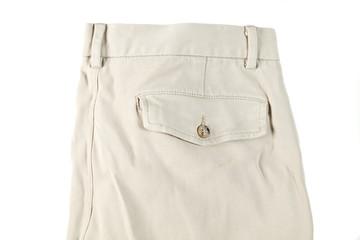 pants man isolated on white background