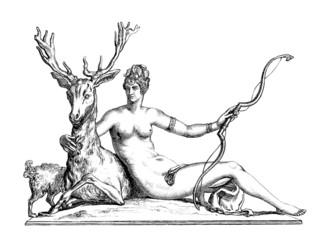 Goddess Diana-Artemis