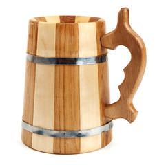 Big wooden mug