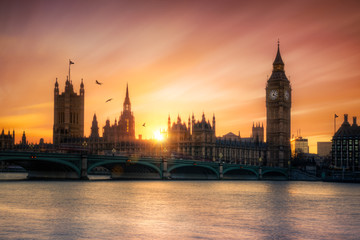 Canvas Print - Big Ben Londres Angleterre