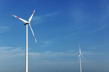 wind turbine generating eco electricity