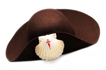 chapéu de peregrino a santiago de compustela